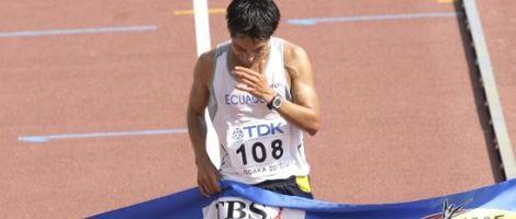 Jefferson Pérez: medalla de plata
